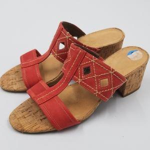 Aerosoles Coral Die Cut Strappy Heeled Sandals
